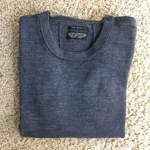 All Saints Merino Crew Neck